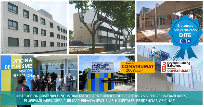 Obras partners steel frame framing europa nica - Steel framing espana ...